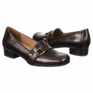 Life Stride Belinda Chocolate Brown Buckle Size 9